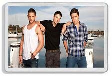 The River Boys 002 / Daryl, Heath, Casey Braxton from Home & Away Fridge Magnet