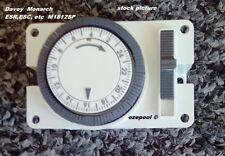 TIME CLOCK M1812SP Bat Reserve Davey Monarch Chloromatic ESR ECS BMSC Analogue