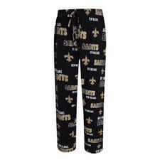 NFL Men's Sweep Lounge Pants Pajamas Knit Cotton New Orleans Saints - XLG