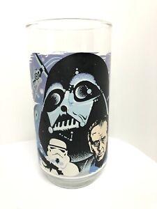 VINTAGE STAR WARS 1977 BURGER KING Darth Vader Glass