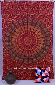 Gypsy Art Indian Wall Hanging Tapestry Beach Throw Ethnic Mandala Wall Tapestry