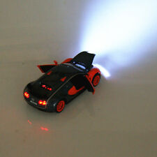 Bugatti Veyron Orange cyan 1:32 Tail Version Alloy Diecast Model Cars Gifts Toys