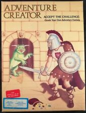 Adventure Creator - Spinnaker Apple II SSI  CIB (1984) - Complete