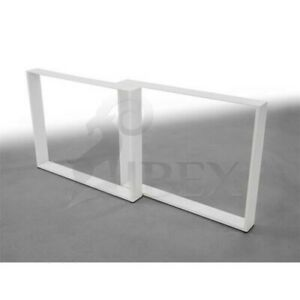 Table Legs Tischkufen Table Frame Tischuntergestell Skid Frame White