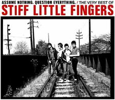 Stiff Little Fingers - Assume Nothing, Question Everything: Very Best (2CD) NEW