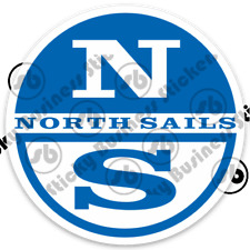 North Sails Logo 3 inch Vinyl Decal Sticker Laptop Oracle Sailing Racing