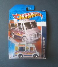 Hot Wheels--2011 City Works #4--Sweet Streets Friburger's Grill Truck