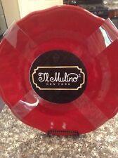Il Mulino Melamine Dinner Plates  DINING NWT Set Of 4 Red