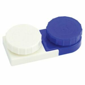 Apex Deluxe Contact Lens Cases 2 Each, Contact Container, Travel Holder