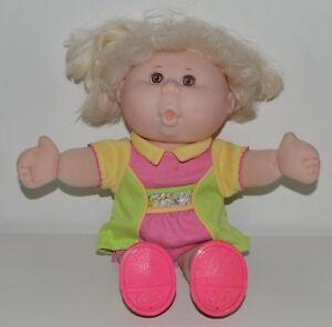 Ancienne poupée vintage CABBAGE PATCH KIDS PATOUF parlante 1995 GPK