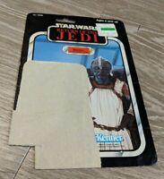 Star Wars - Return of the Jedi - Klaatu- (in skiff guard) - Vintage Cardback