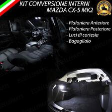 KIT FULL LED INTERNI MAZDA CX-5 CX5 MK2 II CONVERSIONE COMPLETA 6000K