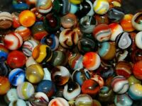 40 PREMIUM Jabo Classic Marbles Some Hard To Find Swirls 1999-2007 Lot 2
