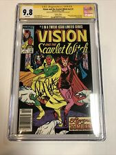 Vision & The Scarlet Witch (1985) # 1 (SS CGC 9.8) CPV   Signed Bettany & Olsen