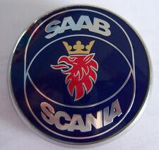 Saab 9-3, 9-7x, 9-5 Hood Emblem Original Equipment 5289905 12844161 Scania Ring_