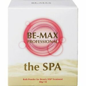 BE-MAX the SPA Bath Salt Slightly carbonated water with citrus herb essential