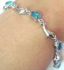 Not Enhanced Sterling Silver Fine Bracelets