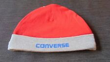 Converse 100%Cotton Beanie Style Hat 0-3m 60-65cm Red MIx BNWoT