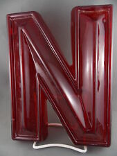 """Vintage Theater Marquee Letter """"N"""""""