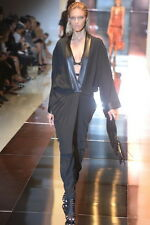 GUCCI Spring Summer 2014 Leather and Cady Kimono Dress **RUNWAY**