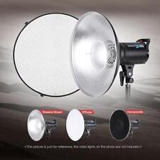41CM Flash Light Speedlite Beauty Dish Bowens Mount Video Light Diffuser W9S9