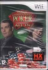 World Championship Poker Videogioco Nintendo WII Sigillato 8023171011158