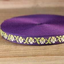 5 Yards National wind embroidery lace ribbon DIY clothes/headdress accessories