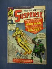 TALES OF SUSPENSE 47 GD/VG  NICE RAW KEY BOOK 1ST AP MELTER