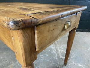 19th Century French Oak Farmhouse Kitchen Dining Table