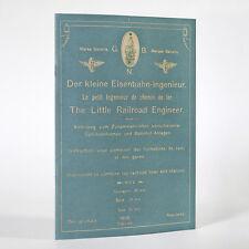 BING Katalog 1898 Rep., Der kleine Eisenbahn-Ingenieur, Little Railroad Engineer