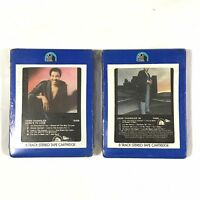 GENE CHANDLER  8 Track Tapes  Lot Here's To Love And '80 New Sealed Dead Stock.