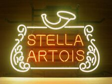 "New Stella Artois Belgian Lager Beer Neon Sign 17""x14"""