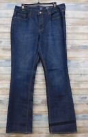 New York & Company Jeans 14 x 34 Women's Low Rise Curvy Boot cut Stretch (D-29)