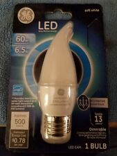 GE LED70DCAM-W3 6.5w Soft White Dimmable LED Bulb for 60w Replacement