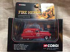 Corgi Diecast Fire Heroes Newark Fire Dept Pontiac Van Fire Support NEW