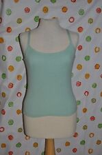 ETCETERA womens size M mint green EFFERVESCENCE BLOUSE Tank TOP NWT