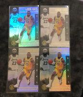 Los Angeles Lakers 2020 Panini Illusions Lebron James Base No.20 LOT (4)