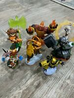 Skylanders GIANTS lot: 7 figures - Excellent Condition!