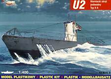 Mirage submarino u-2 u-1 tipo II a modelo-kit 1:400 nuevo embalaje original sugerencia plastickit Boat