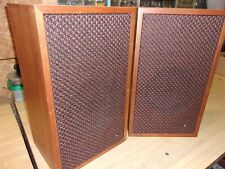 "Vintage Pair of Superscope S-8 Speakers - 19"" tall"