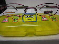 NICKELODEON NIC  I CARLY  WIRED BURGUNDY  49-17-130  Eyeglass Frames New