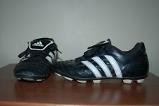 Adidas Traxion Soccer Cleats Size 5 Youth Black White Nice LQQK Free Shipping!