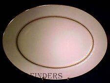 "MIKASA china BRYN MAWR A1104 pattern Oval Meat Serving Platter @ 14 3/4"""