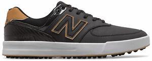 New Balance 574 Greens Golf Shoes NBG574GBK Black/Gum Men's New - Choose Size!