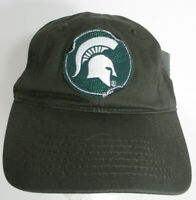 Michigan State Spartans Hat MSU NCAA Adjustable USA Embroidery Distressed Cap