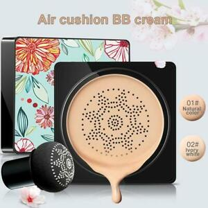 Air Cushion Mushroom Head CC Cream Concealer Moisturizing Make up BB Cream UK