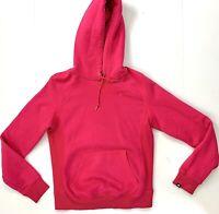 Women's Hoodie Nike Small Mini Swoosh Hooded Sweatshirt Pink TRAVIS SCOTT