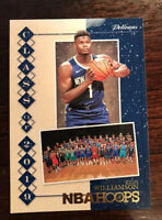 2019-20 NBA Hoops Holiday Zion Williamson RC Class of 2019 Pelicans
