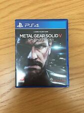 PS4 Video Game - Metal Gear Solid V: Ground Zeroes - Great Condition!