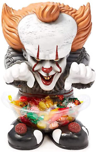 Michael Myers Jason Freddy Pennywise It Door Greeter Halloween Candy Bowl Holder